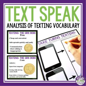 TEXTING LANGUAGE PRESENTATION & ASSIGNMENTS