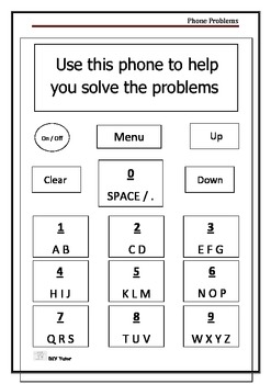 Texting Puzzles - Problem Solving with Mobile Phones