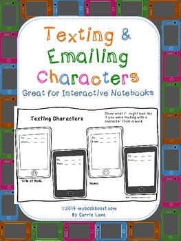 Texting and Emailing Characters