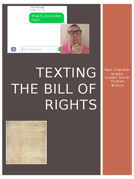 Texting the Bill of Rights