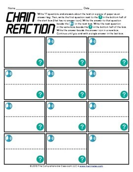Textivities Reading Worksheets - 25 activities to complete with any text