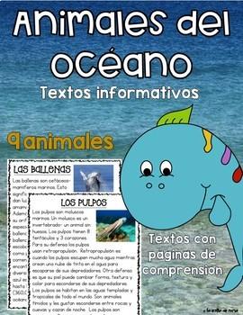 Textos Informativos- Animales del Océano