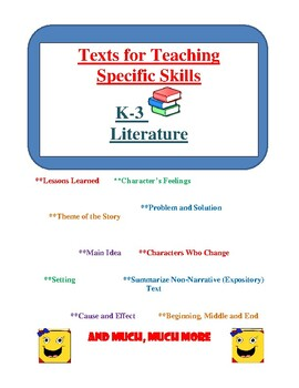 Texts That Teach to the Common Core Reading Competencies