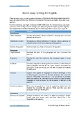 HSC Texts and Human Experience Sample Essay & Essay Analys