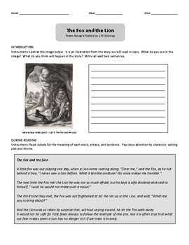 Texts and Tasks: The Aesop's Fables Collection