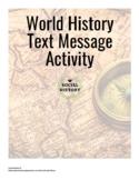 Texts from Ancient History Activity