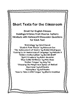 Diverse Texts for the Classroom