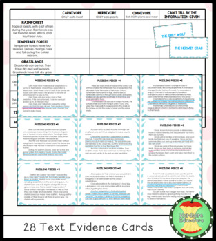 Textual Evidence Board Game