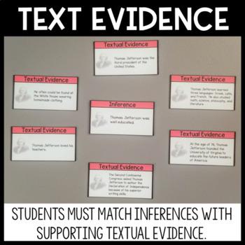 Textual Evidence Board Game Nonfiction
