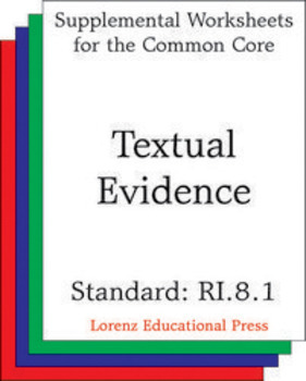 Textual Evidence (CCSS RI.8.1)