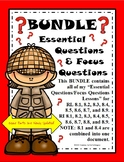 Textual Evidence Central Idea Summary Argument Claims Conflicting Info...BUNDLE