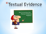 Textual Evidence Powerpoint- Constructive Response