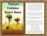 Textual Evidence Reading Strategy Board Game - fun for groups, quick assessment
