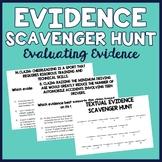 Textual Evidence Scavenger Hunt