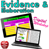 Elaboration Practice With Evidence in Writing: Google Classroom