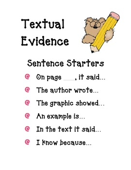 Textual Evidence for Common Core