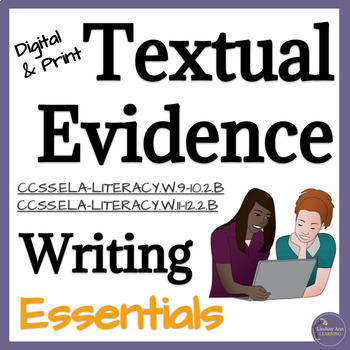 Textual Evidence Selection Activity for High School English Language Arts