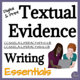 Textual Evidence Lesson for High School English Language Arts