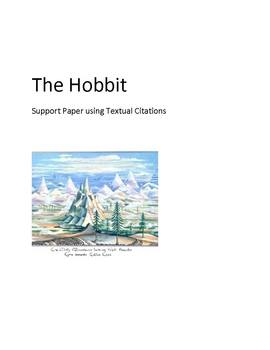 Textual Support Paper for The Hobbit