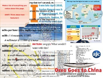 Textual and Graphic Features Activating Lesson