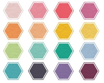 Texture Hexagon Clipart, Shapes, Hexagon Clipart #062