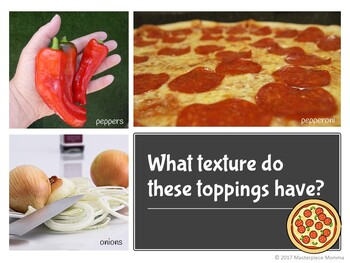 Texture Pizza: A Lesson in How Things Feel