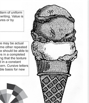 Shading with Texture - Crosshatching, Pointillism, Etc...