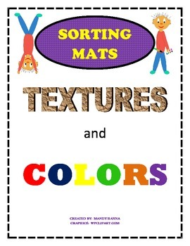 Free texture and color sorting mats