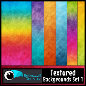 Textured Digital Papers Set 1