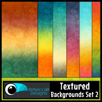 Textured Digital Papers, Textured Backgrounds Set 2, Textu