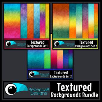 Textured Digital Papers Bundle