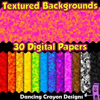 Textured Backgrounds | Digital Papers Clip Art