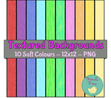 Textured Backgrounds - Soft Colours