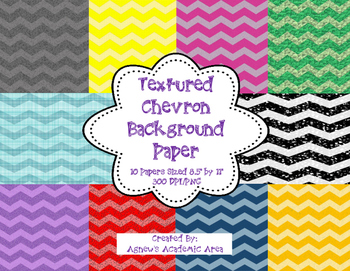FREEBIE: Textured Chevron Digital Background Paper: Commercial Use Allowed