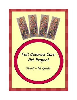 Textured Corn on Cob Art Project