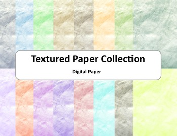 Textured Paper: Many Colors