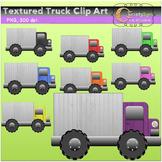 Textured Truck Clip Art