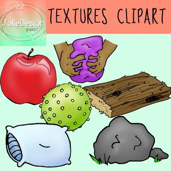 Textures OT Clipart 12 Piece Set - Color and Black and White