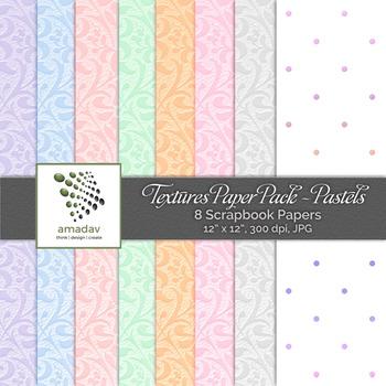 Textures Paper Pack - Pastels