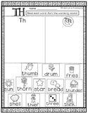 TH Digraph: Word Sort