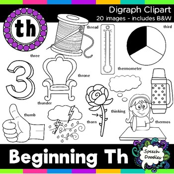 Th Clipart - Beginning Digraph - th, 20 images! For Personal and Commercial Use