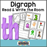 Th Digraph Read & Write the Room
