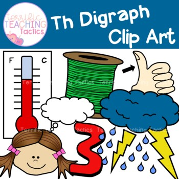 Th Words Digraph Clip Art