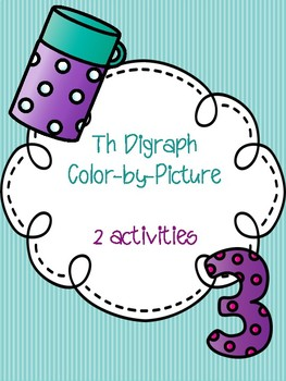 Th Digraph Color-by-Picture