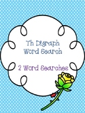 Th Digraph Word Searches!