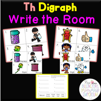 Th Digraph Write the Room