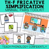 Th-F Fricative Simplification Minimal Pairs Toolkit