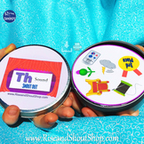 """Th Sound Matching Game SHOUT OUT; 31 Printable 3"""" & 5"""" cards"""