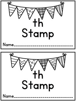 Th Stamp and Write
