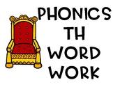 Th beginning diagraph phonics